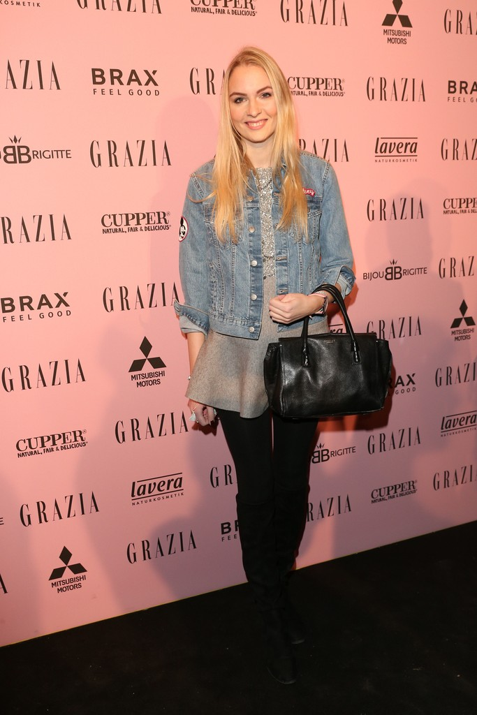 BERLIN, GERMANY - JANUARY 18:  Marietta Buchholz attends the GRAZIA Pop Up Breakfast during the Mercedes-Benz Fashion Week Berlin A/W 2017 at  on January 18, 2017 in Berlin, Germany.  (Photo by Gisela Schober/Getty Images for GRAZIA) *** Local Caption *** Marietta Buchholz